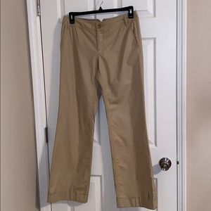 Banana Republic Martin Stretch Khaki Pants Size 10